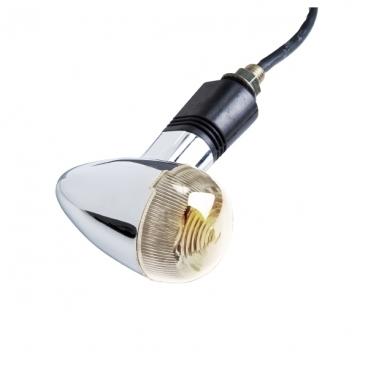 KIT 4 CLIGNOTANTS LED CHROME BLANC